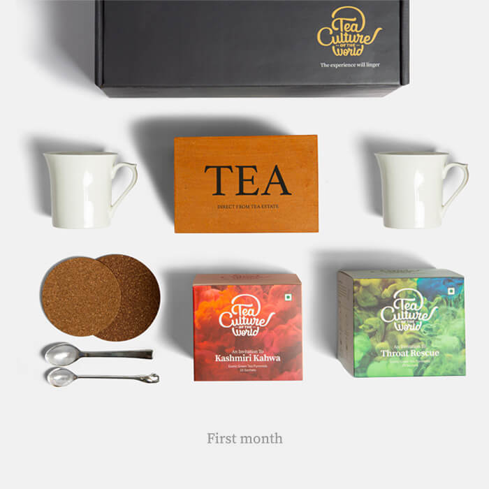 exotic tea bags 1 year subscription