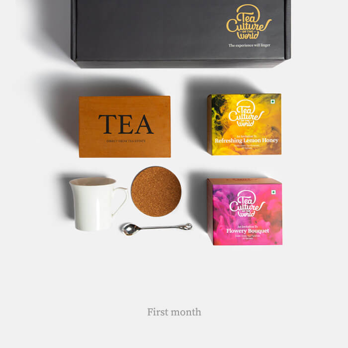 exotic tea bags 6 month subscription