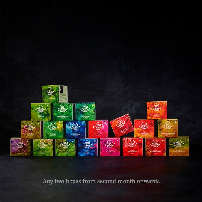 best exotic tea bags 6 month subscription with tea boxes