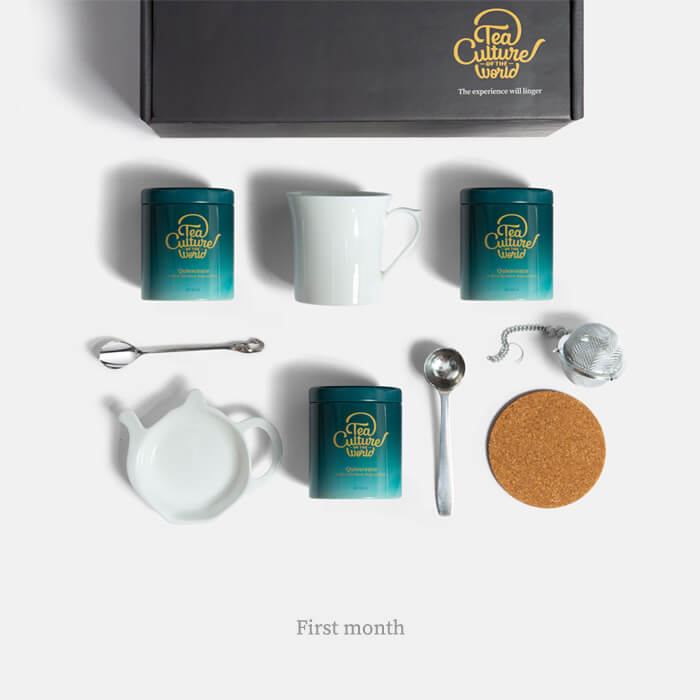 exotic whole loose leaf 6 month subscription